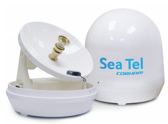 SeaTel ST 14D TV at Sea Satellite TV System