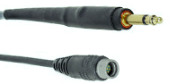 David Clark 41035G-02 PB Interface Cord with Single Plug