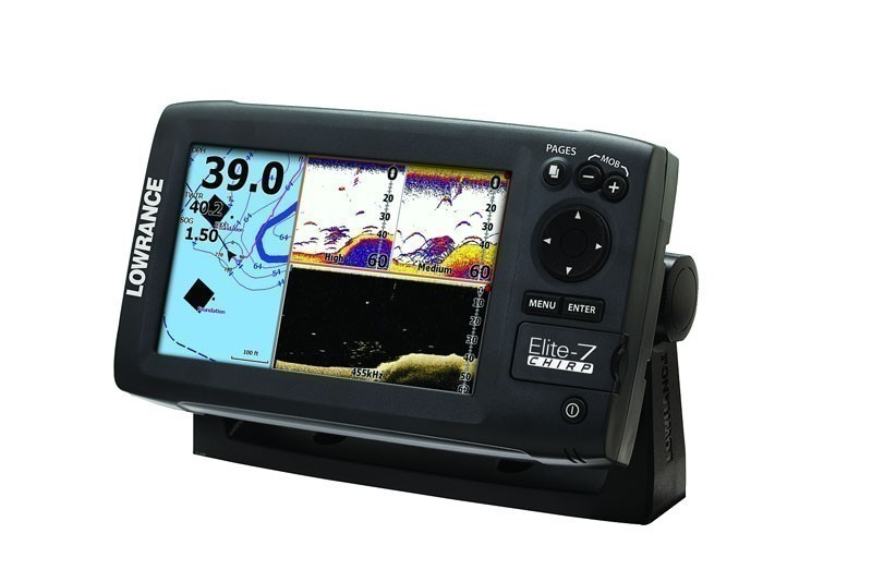 Lowrance ELITE-7 CHIRP Combo Gold, No Transducer