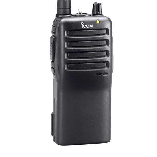 ICOM IC-F24 07 RC Series Portable UHF Radio, 16 Channel