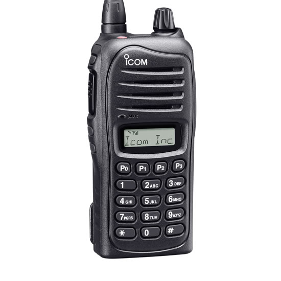 Icom Ic F4021t Rc Uhf Portable Radio 128 Channels 4 Watts