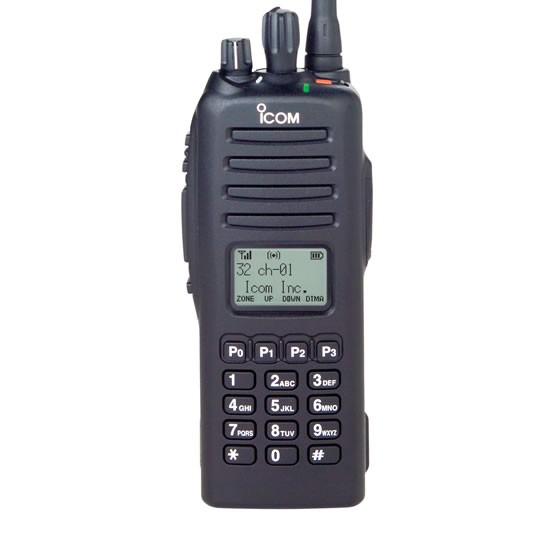 ICOM IC-F80DS 31 380-450MHz P25 Radio with FIPS AES