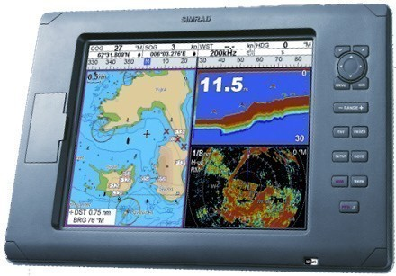 "simrad nx40 navstation with 8.4"" display and gps, Fish Finder"