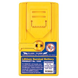 ACR 1066 Lithium Battery Pack for Survival VHF Radio