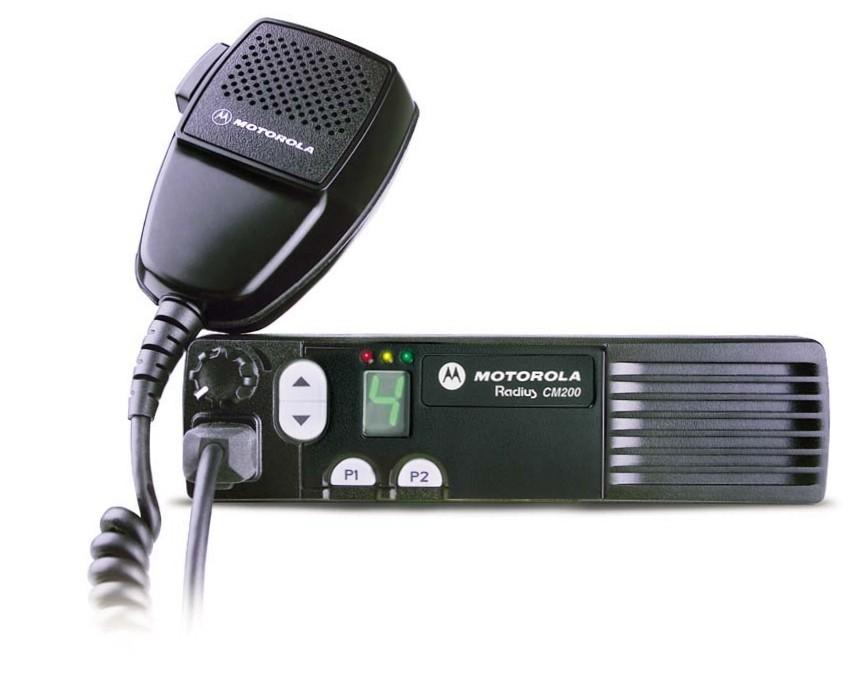 Motorola CM200 UHF Mobile Two Way Radio