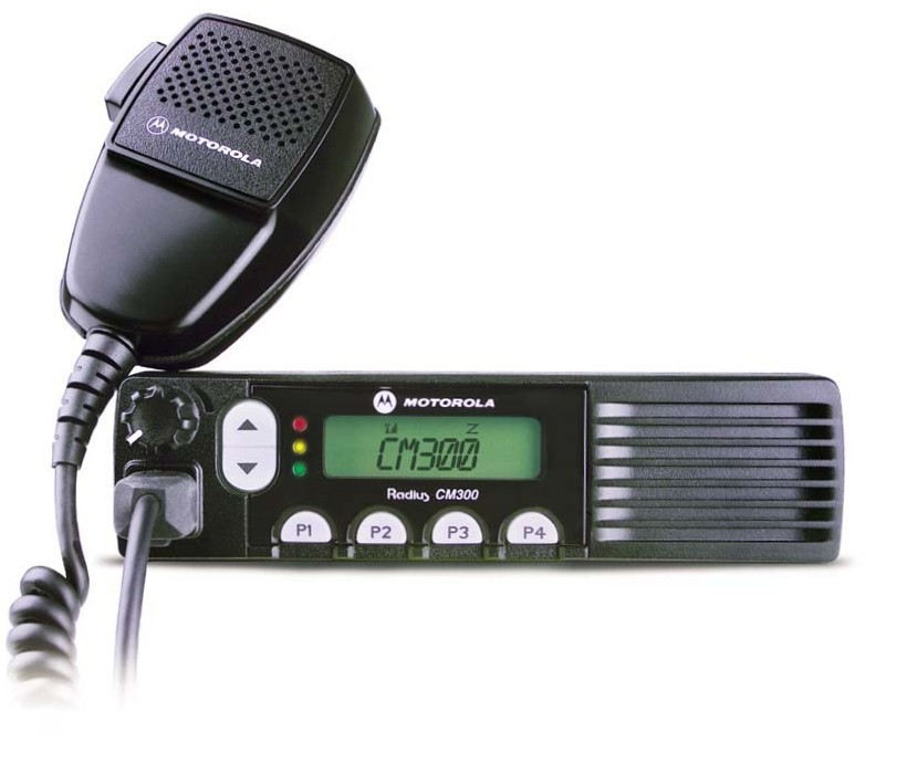 Motorola CM300 VHF Mobile Two Way Radio