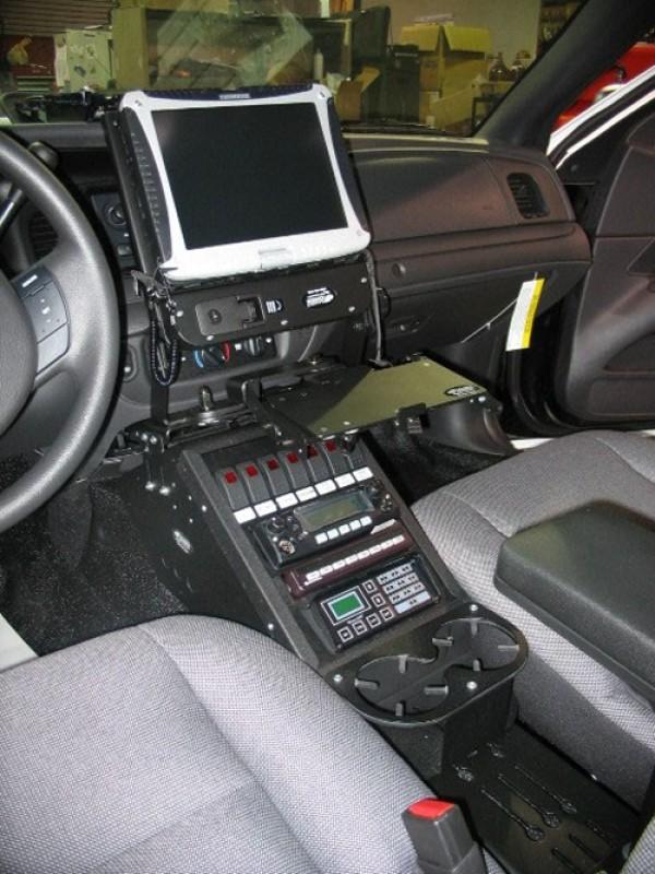 Gamber Johnson Vehicle Installations Photography