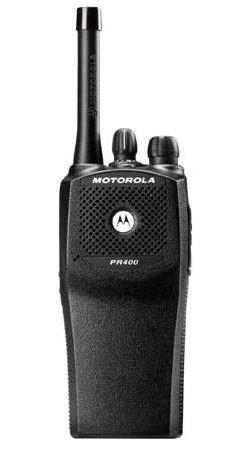 Motorola Pr400 Uhf Portable Radio 4 Watts 16 Channel