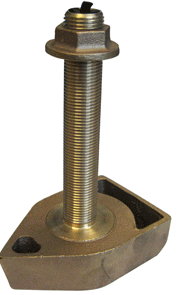 Koden 1700/50/200T-CX Transducer, 50 & 200 kHz, 600W, Bronze