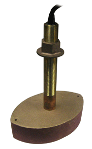 Koden 707/50/200T-CX Transducer, 50 & 200 kHz, 1 kW, Bronze