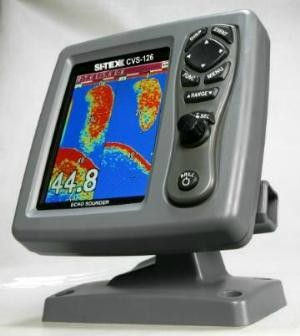 Koden KCVS-126 Digital Fishfinder, 50/200 kHz, No Transducer