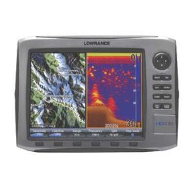 Lowrance HDS-10 US Basemap #140-00 w/83-200 Transducer