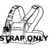 Motorola 1505596Z02 Replacement Strap for RLN4570 and HLN6602