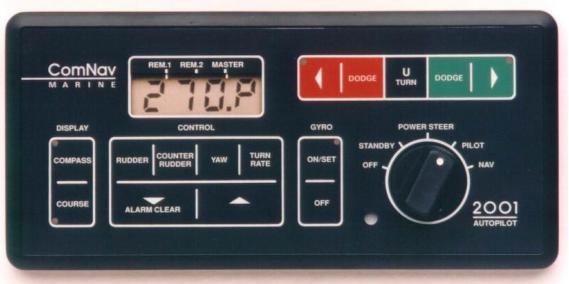 Comnav 2001F Control Head with Fluxgate Interface