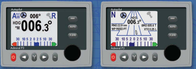 Comnav P3 Color Display (Included in all P3 Packs)