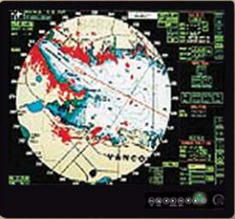 Comnav 20520040 CS15S LED Sunlight LCD Marine Monitor