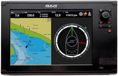 B&G Zeus 12 Chartplotter Navigation System