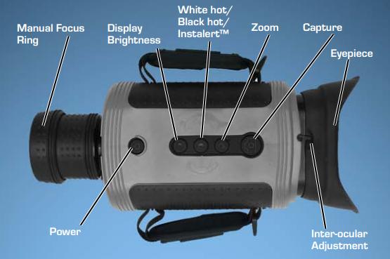 FLIR BHM-6XR+ Thermal Imaging Camera, Bi-Ocular Handheld
