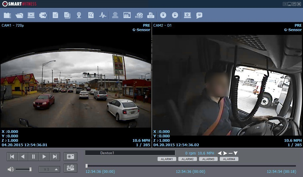 Vehicle Journey and Accident Cameras