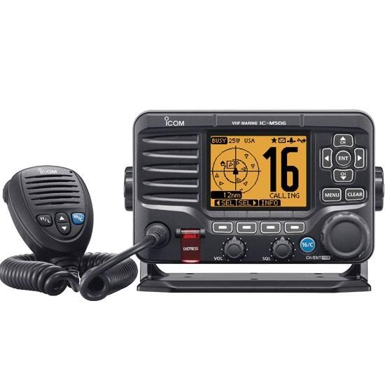 ICOM M506 11 Class D DSC Marine VHF Radio W/NMEA 2000