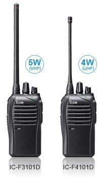 ICOM IC-F3210D 01 IDAS VHF 16 Channel MultiTrunk Portable without a Display