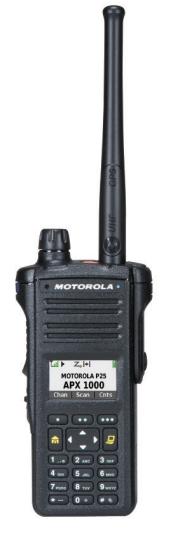 Motorola APX 1000 P25 Portable Radio
