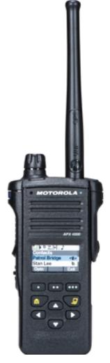Motorola APX 4000 P25 Portable Radio