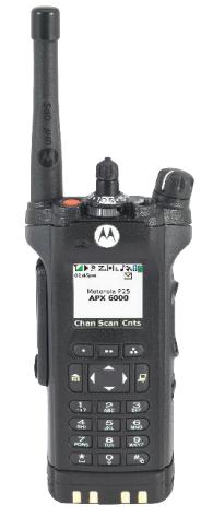 Motorola APX 6000 P25 Portable Radio
