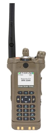 Motorola SRX 2200 Combat Radio