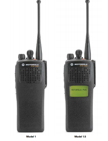 Motorola XTS 1500 Digital Portable Radio