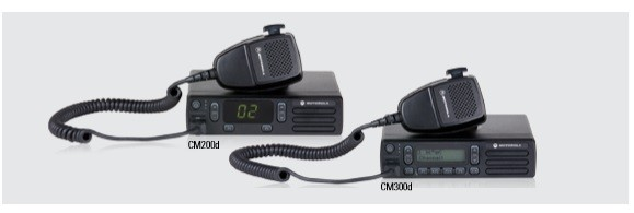 Motorola MOTOTRBO CM200D 40W, 403-470MHz UHF 16CH Analog Mobile, AAM01QPC9JA1AN