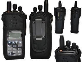 BK Technologies KAA0451B Nylon Case w/Belt Clip