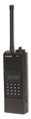 RELM BK DPHX5102X 136-174 MHz, 400 Channels, APCO P25 Digital/Analog Portable