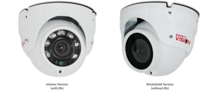 Safety Vision 41-3.6MIR-BK Interior Camera w/Mic 3.6mm Black Housing
