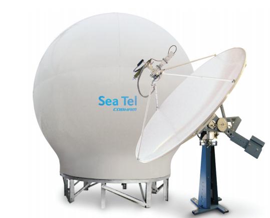 SeaTel 8897 Marine Ku-Band VSAT Satellite Antenna System