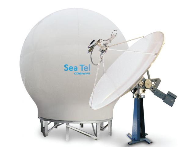 SeaTel 9497 Ku-Band and C-Band Satellite Antenna System
