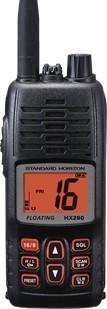 Standard Horizon HX290 Portable VHF Radio, Battery, Ant., Chrgr