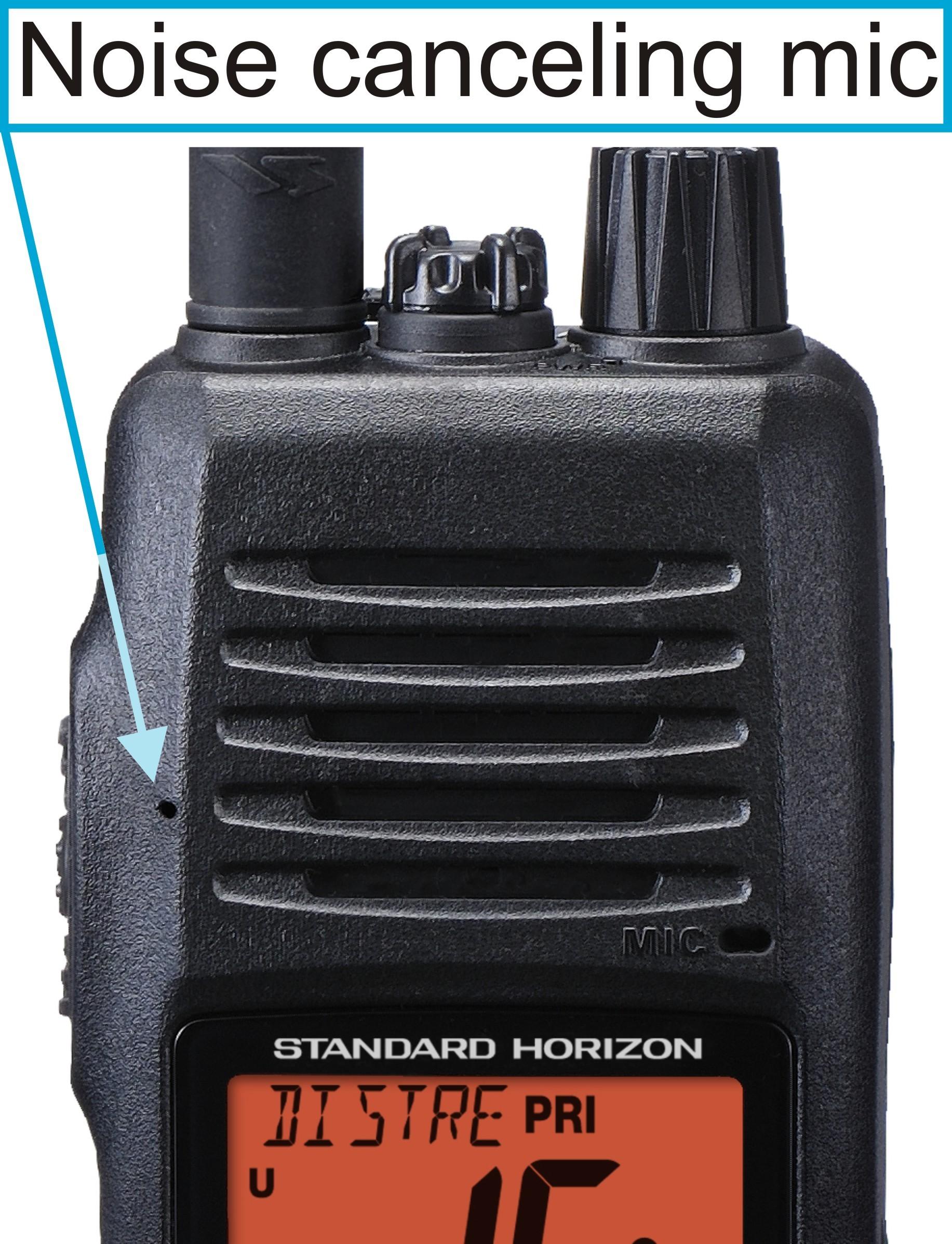 Standard Horizon HX400 Portable VHF Radio, Battery, Ant., Chrgr