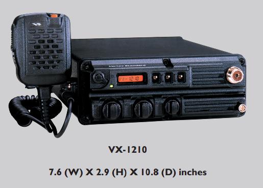Vertex Standard VX-1210 Portable HF Manpack Radio, 20 Watts