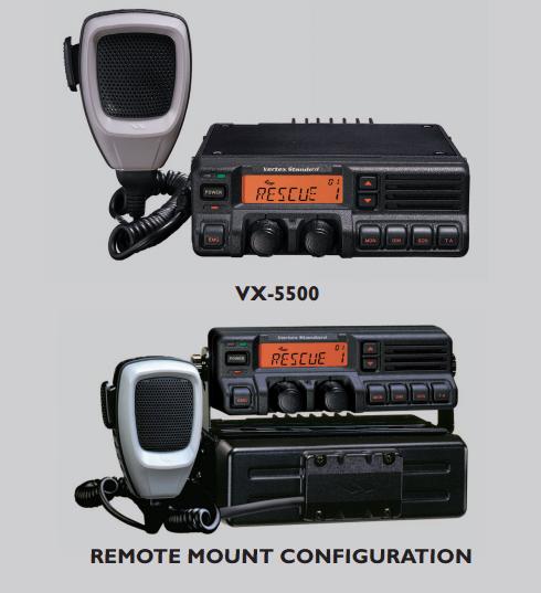 Vertex Standard VX-5500UD PKG-1 UHF Mobile Radio
