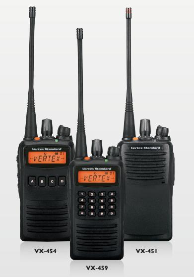 Motorola/Vertex Standard VX-451 UHF Portable 400-470MHz Portable Radio